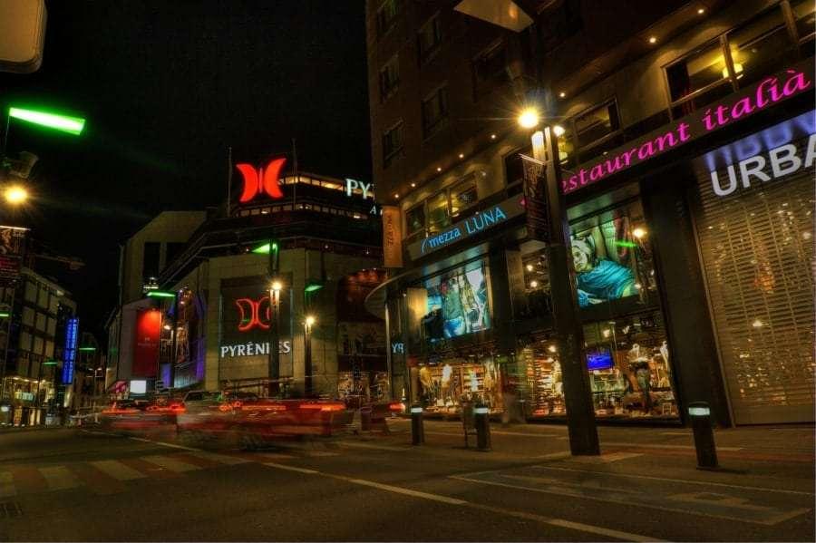 Андорра: торговые центры