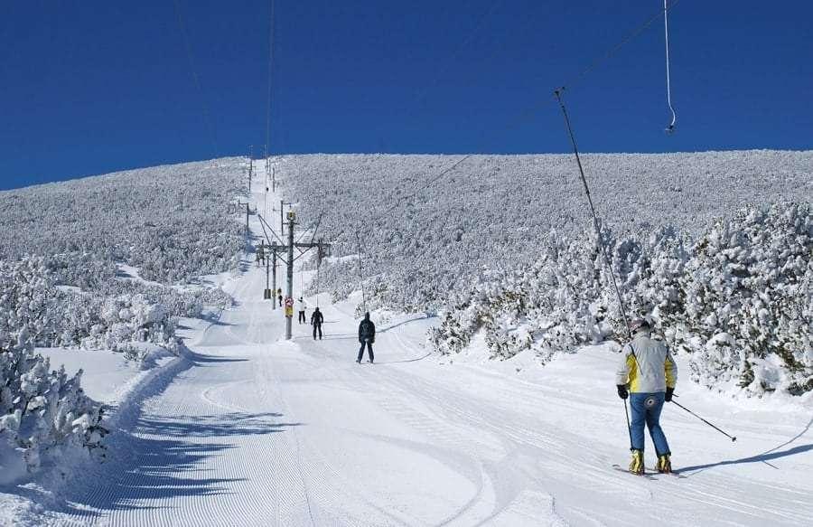 Боровец: горные лыжи