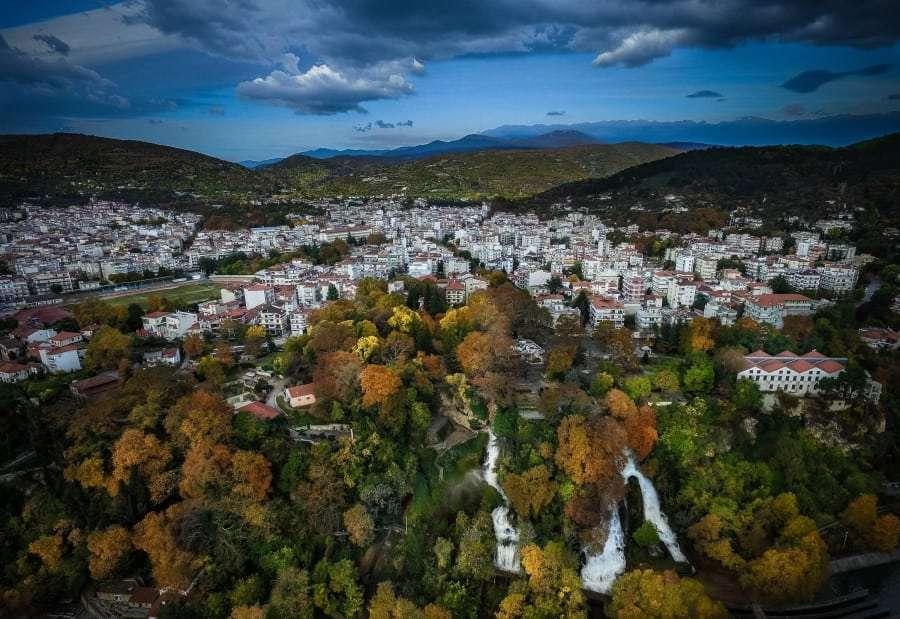 Город Эдесса, Греция