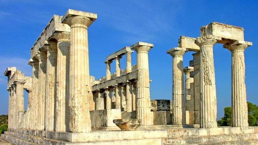 Греция, Афины - карта