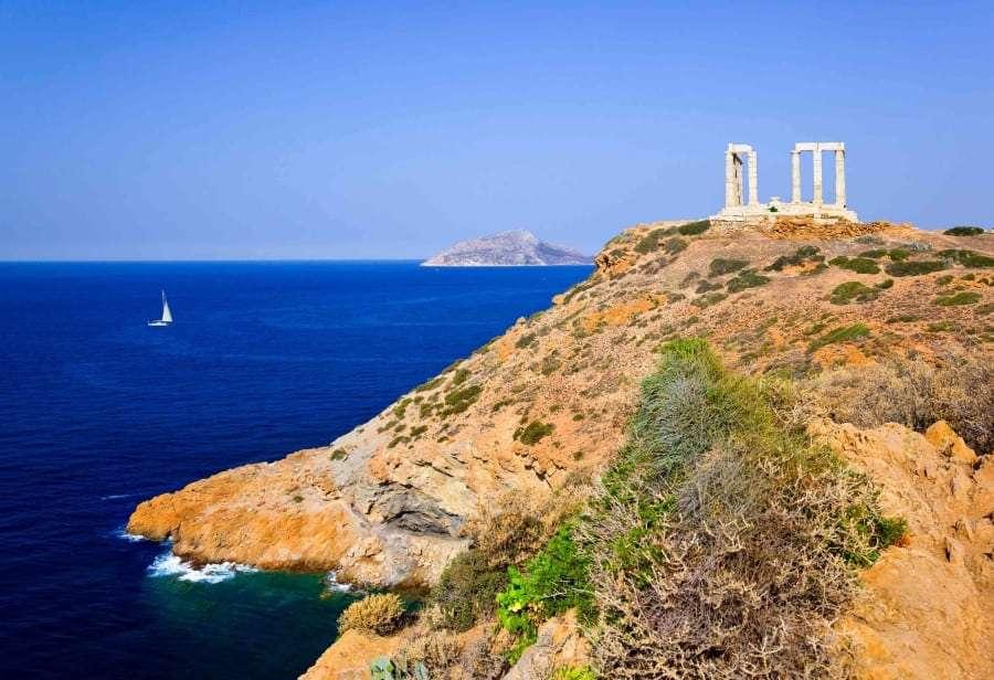 Греция, Афины - море