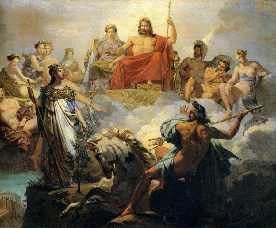 Греция - боги