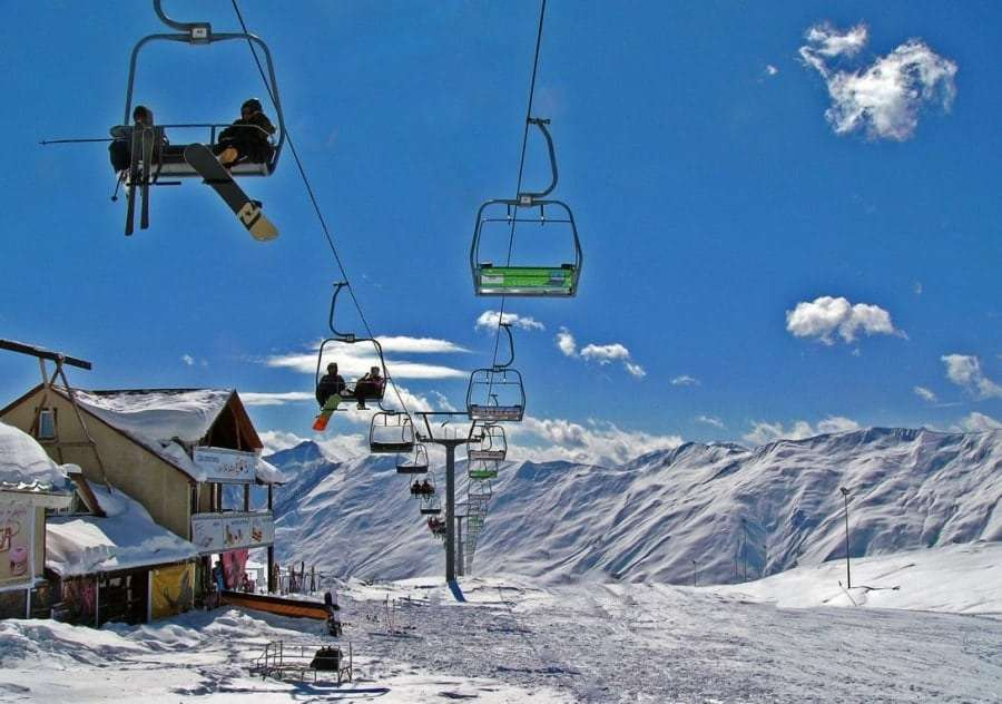 Грузия - горнолыжный курорт