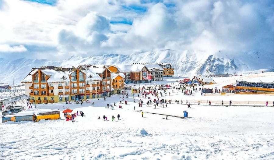 Гудаури - горнолыжный курорт