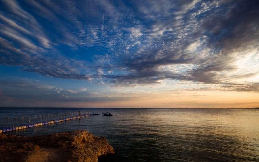 Красное море вечером