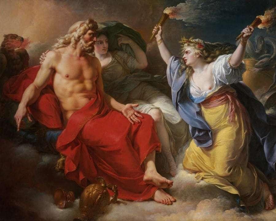 Зевс и Деметра