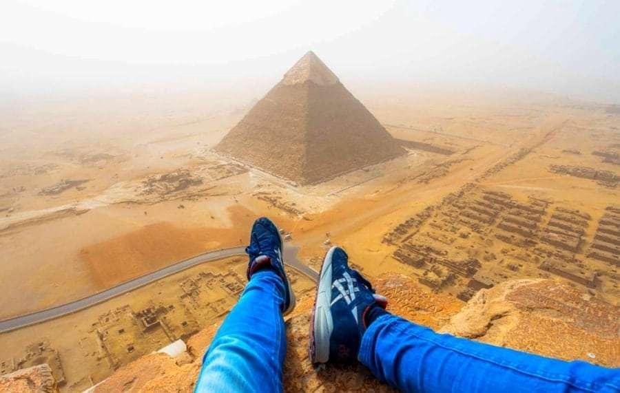 Египетские пирамиды на карте