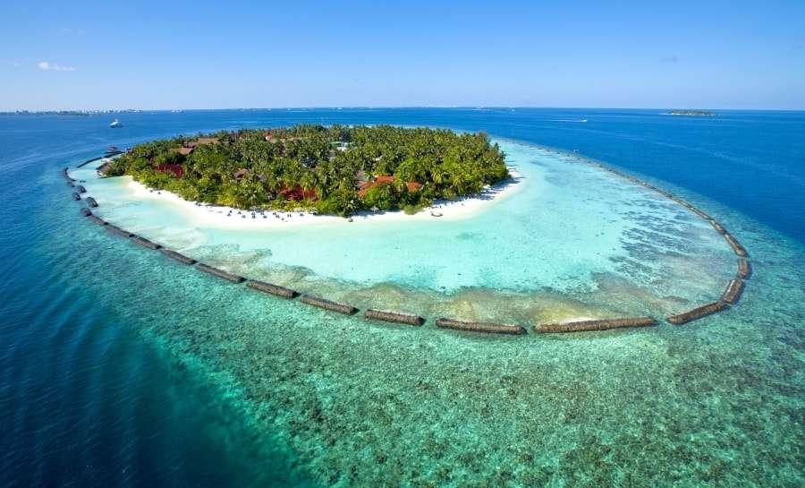 Где находятся Мальдивские острова