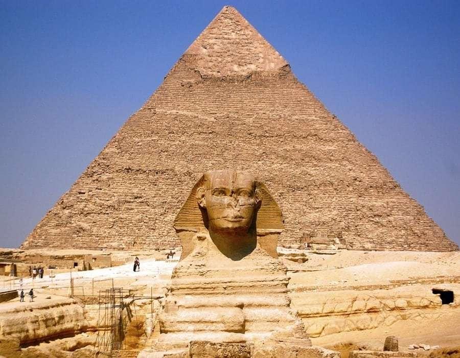 Где находятся пирамиды в Египте