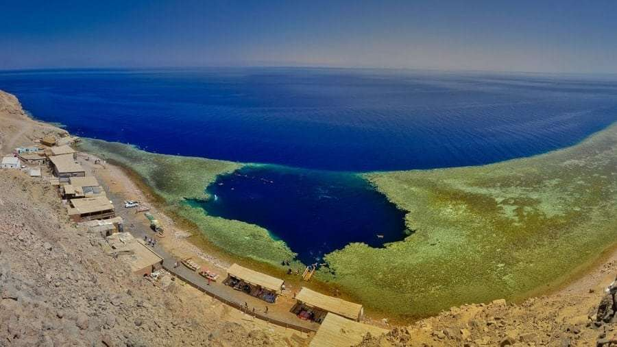 Голубая дыра в Дахабе, фото