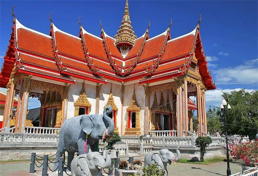 Карта: Тайланд, Пхукет