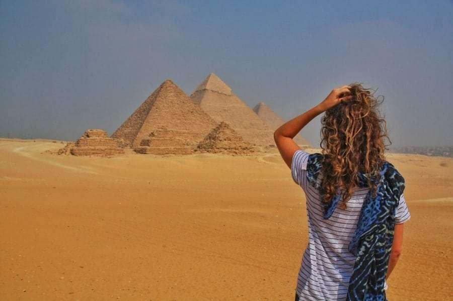 Расстояние от Шарм-эль-Шейха до пирамид