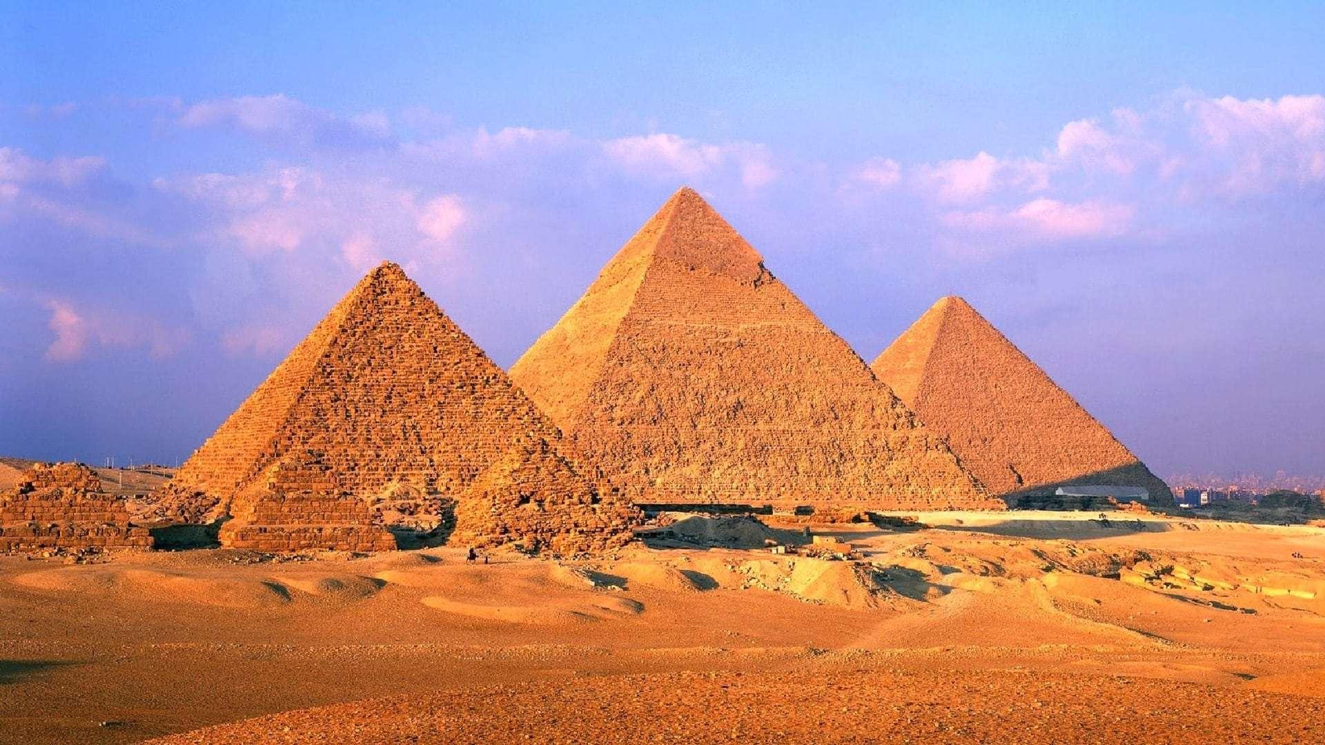 Шарм-эль-Шейх - пирамиды
