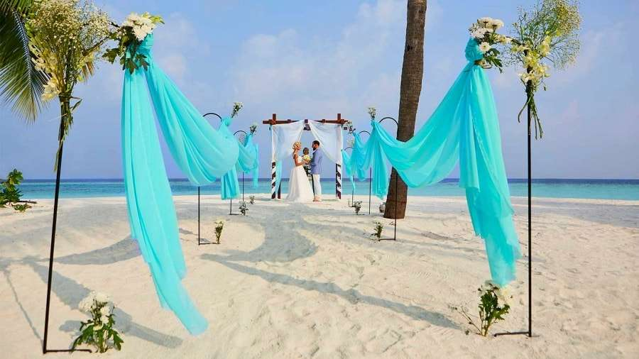 Свадьба на Мальдивах - фото