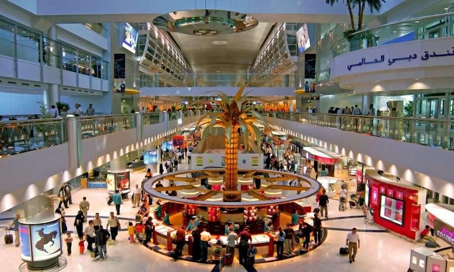 Аэропорт Дубай - прилет
