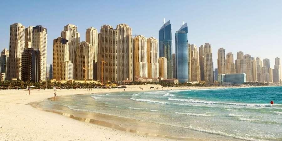 Дубай, Марина - пляж