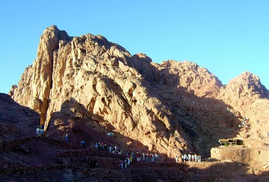 Экскурсия на гору Моисея, Египет