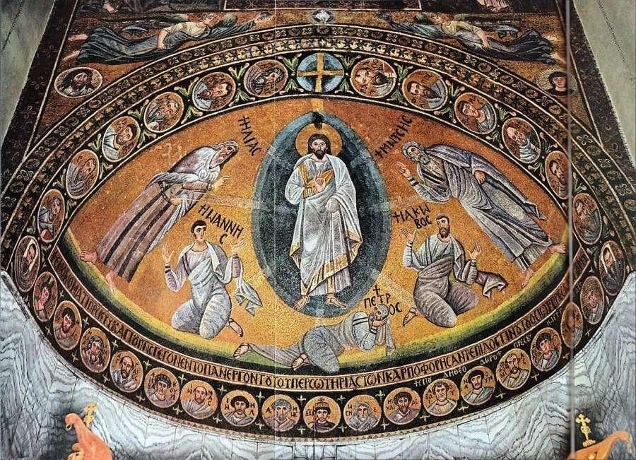 Фреска в Монастыре св. Екатерины на Синае