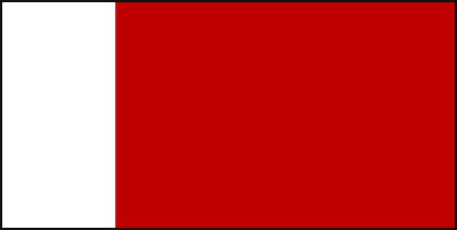 Город Дубай, флаг
