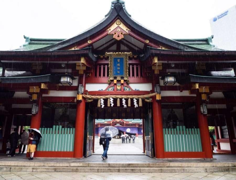 ХИЭ Дзиндзя, Япония