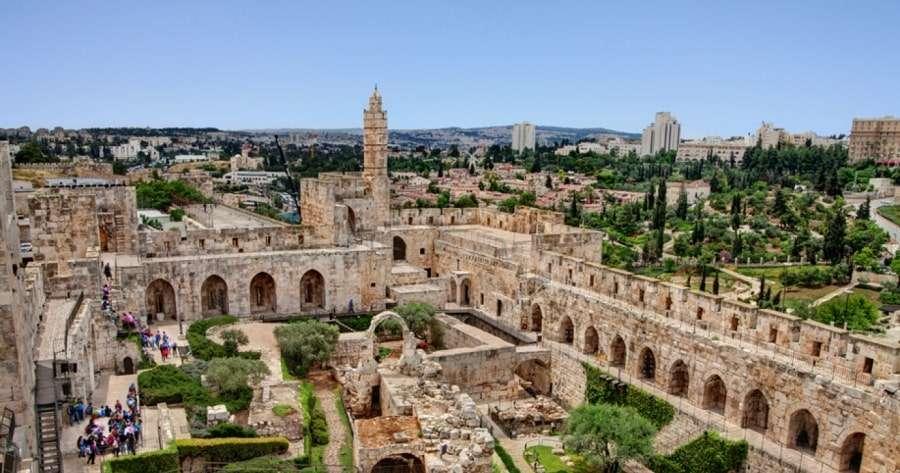Фото старой части города Иерусалим