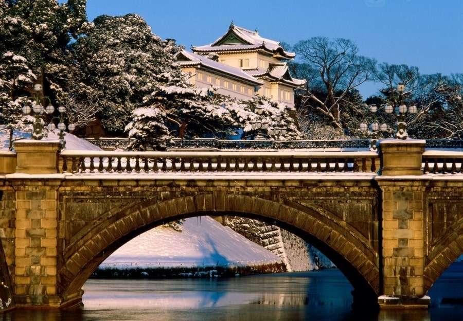 Императорский дворец в Японии