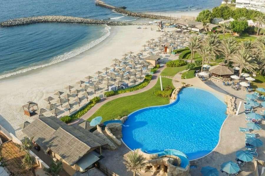 Карта отелей Шарджи, ОАЭ