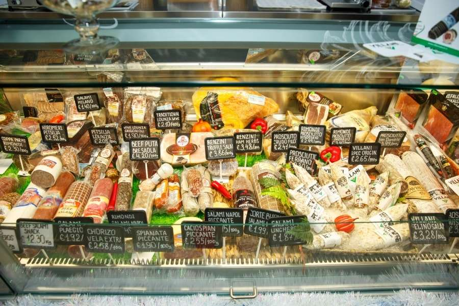 Кипр - цены на еду