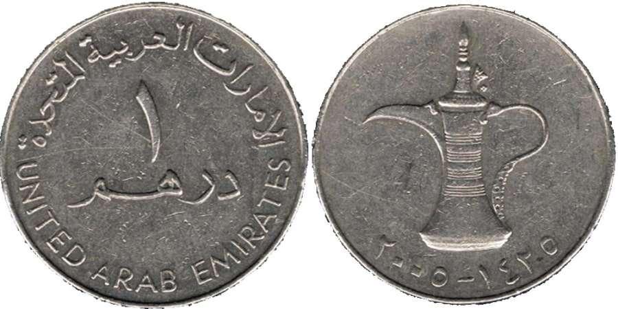 Курс валют, Дубай