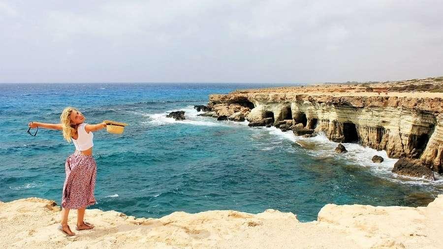 Остров Кипр на карте мира