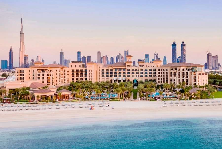 Отели Дубаи с собственным пляжем