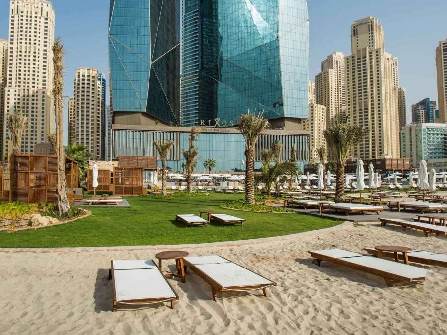 """Пляжные отели Дубаи """"все включено"""""""