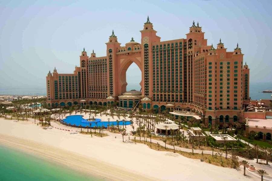 Пляжные отели в Дубае