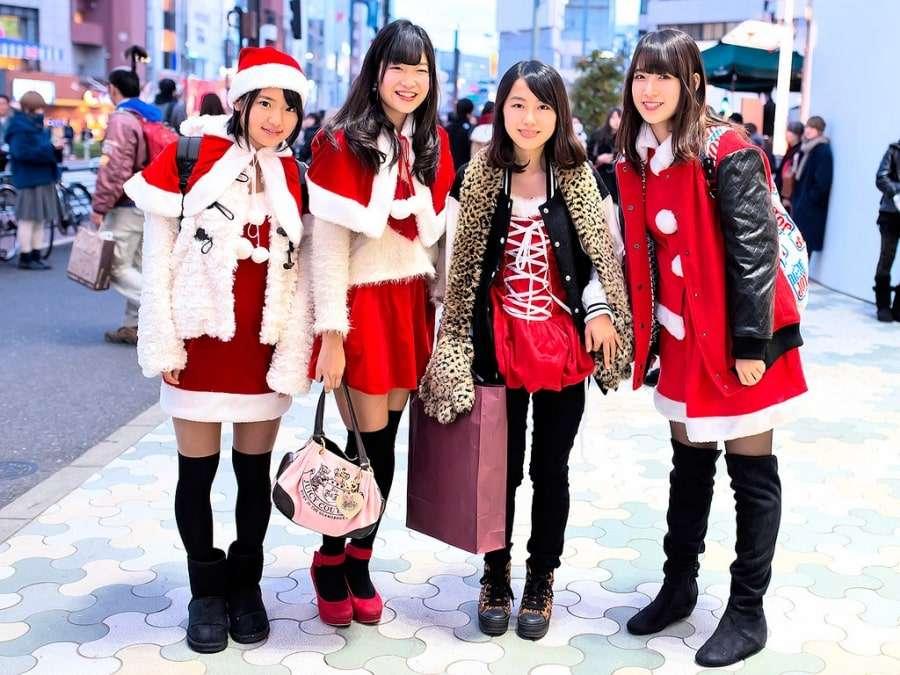 Японцы в Новый год