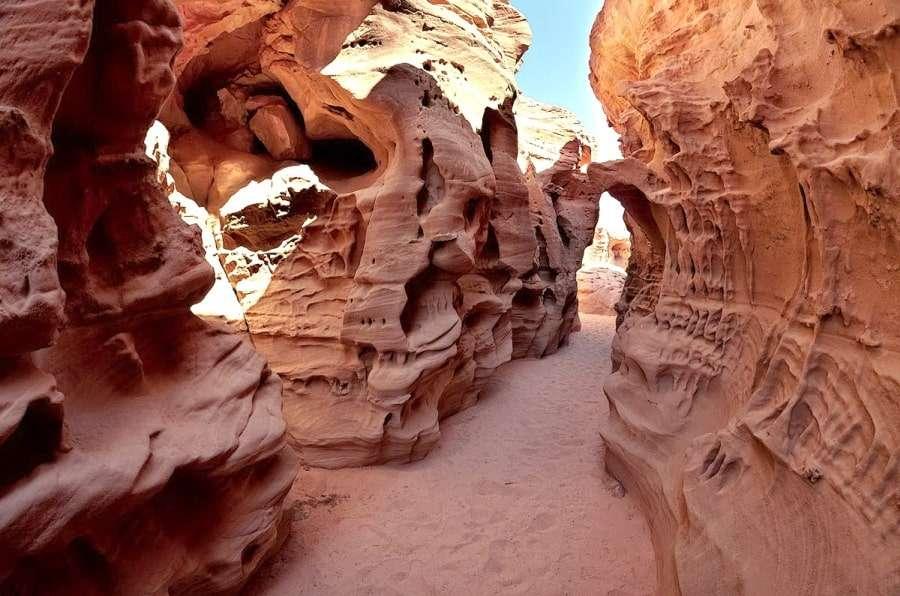 Цветной каньон в Дахабе