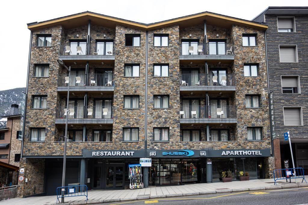 4-звездочный отель Hotansa Shusski в Андорре