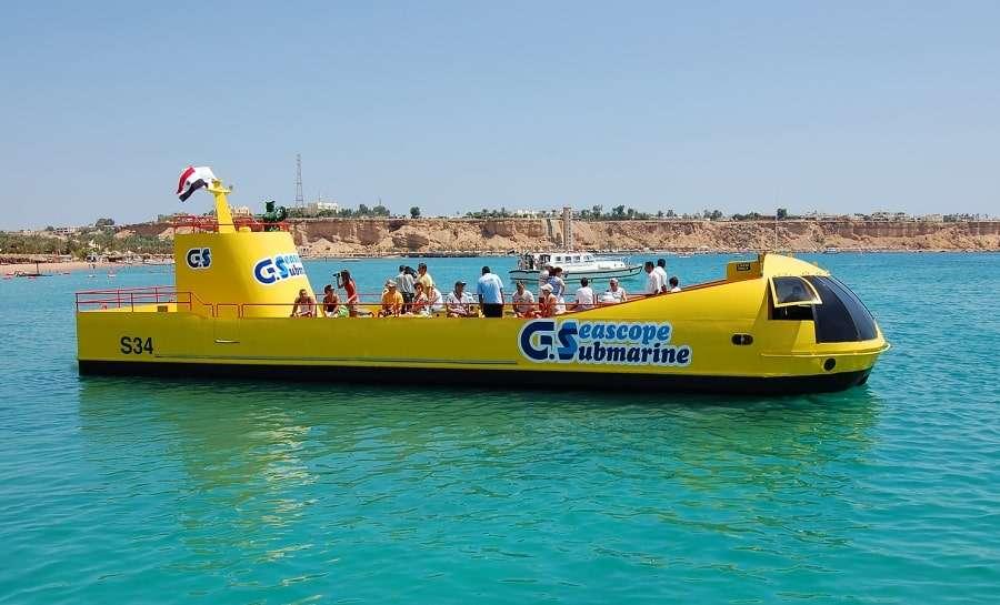 Отдыхающие на лодке Sea Scope