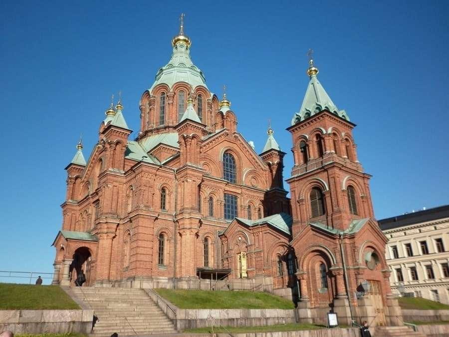 Фото церкви в Финляндии