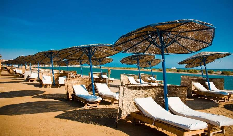 Пляж Эль-Гуны