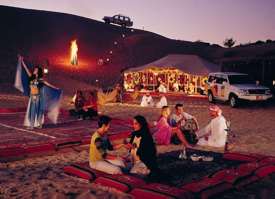 Вечер в деревне бедуинов