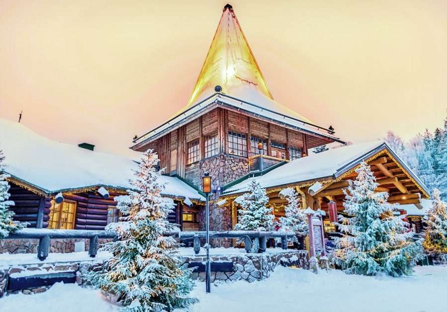 Резиденция Санта Клауса в Лапландии
