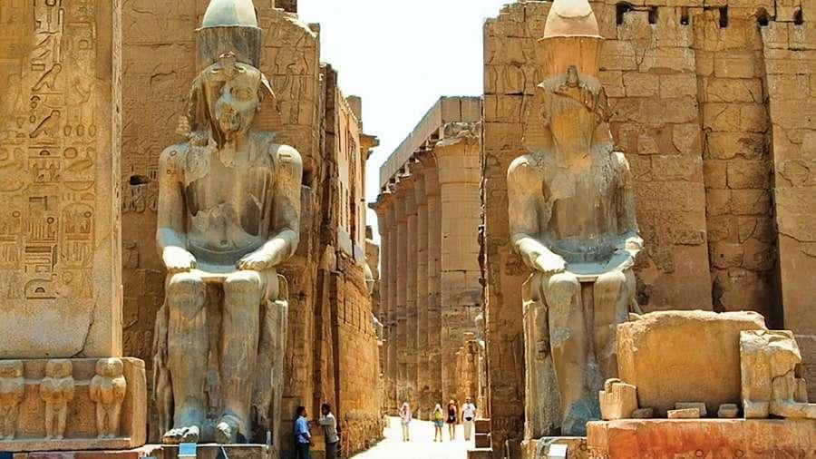 Историческая часть Луксора