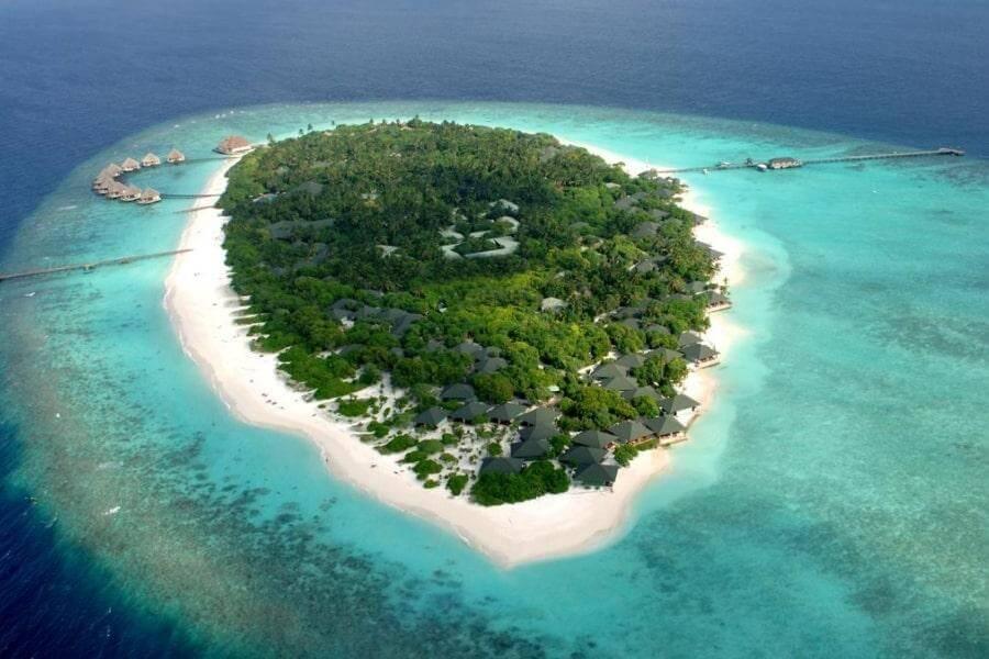 Фото 4-звездочного отеля Adaaran Select Meedhupparu на Мальдивах