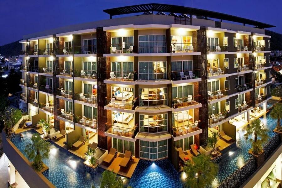 Фото 4-звездочного отеля Andakira на Пхукете, Таиланд