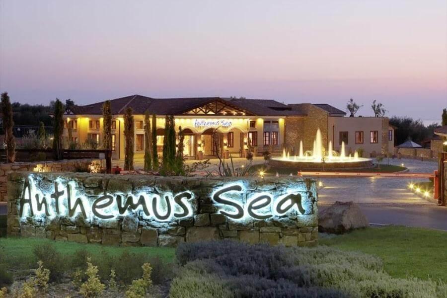 Фото 5-звездочного отеля Anthemus Sea Beach Hotel & SPA в Халкидики-Ситонии, Греция