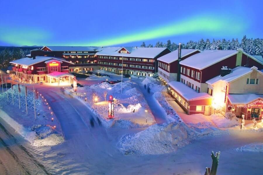 Фото 4-звездочного отеля Hullu Poro в Леви, Финляндия