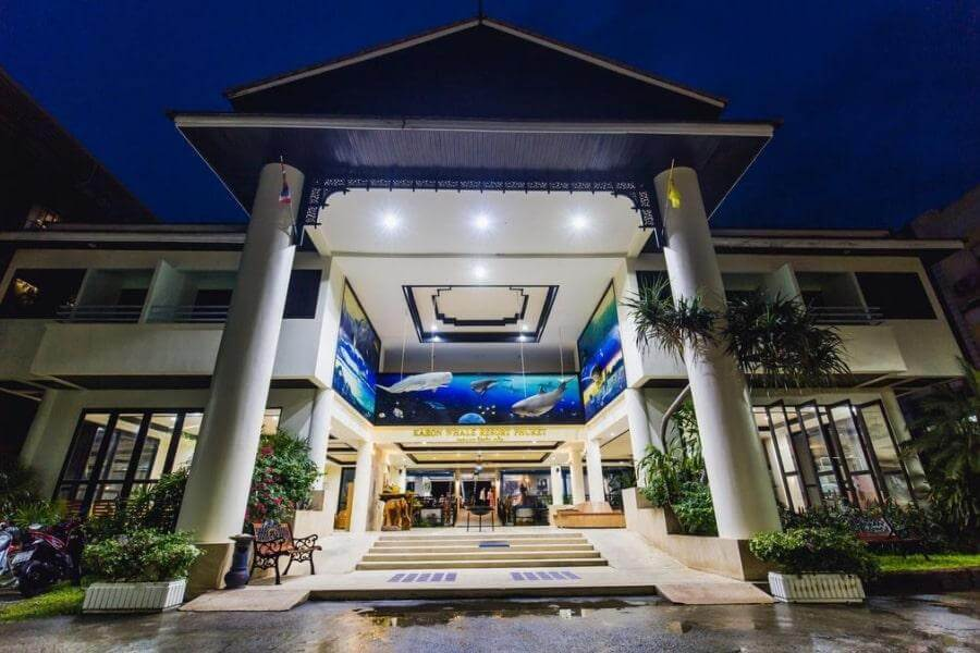 3-звездочный отель Karon Whale Resort на Пхукете, Таиланд
