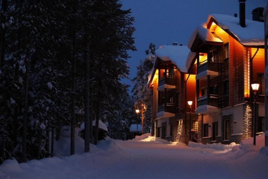 Фото 5-звездочного отеля Lomatahdet Otava в Леви, Финляндия