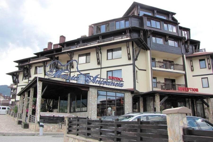 3-звездочный отель Maria-Antoaneta Residence Aparthotel в Банско, Болгария