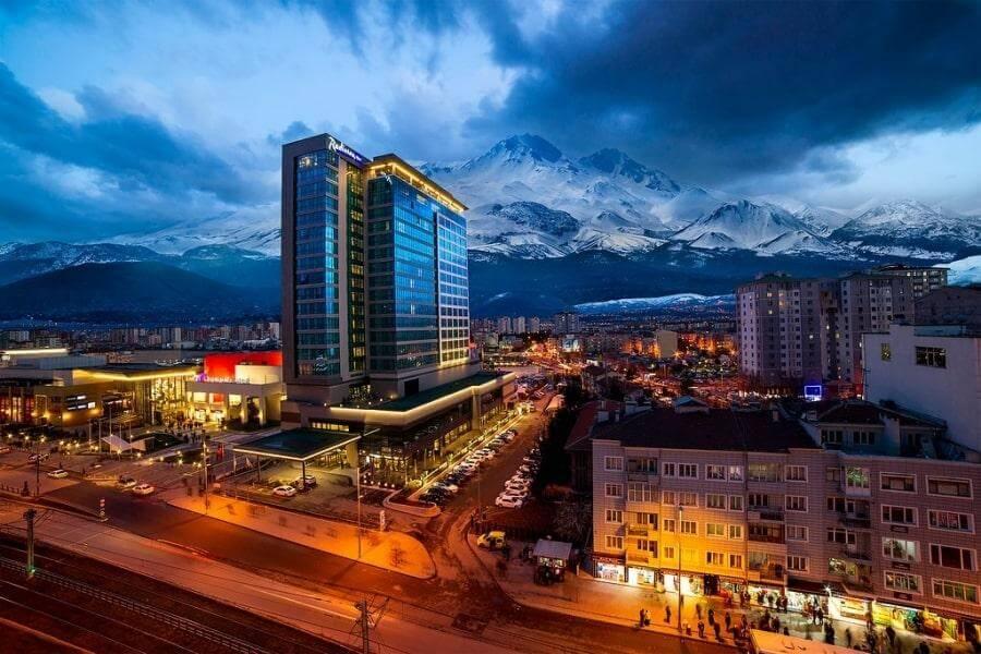 5-звездочный отель Radisson Blu Hotel в Кайсери